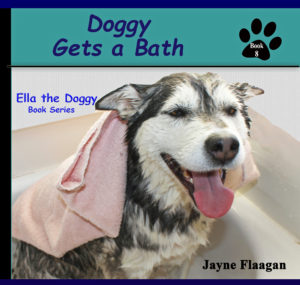 Doggy gets a bath cover june 2017