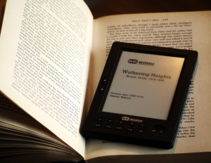 "Ebooks offer benefits ""normal"" books don't…"