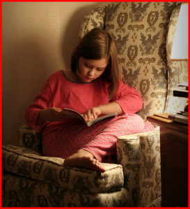 Reading – One of the Great Indoor Activities for Kids!