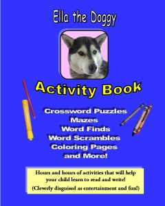 Ella the Doggy Activity Book For Kids Just Released!