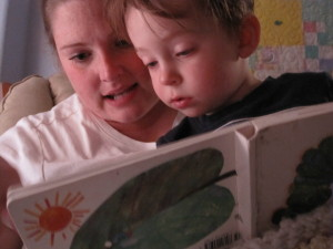 mom reading to child credit photopin